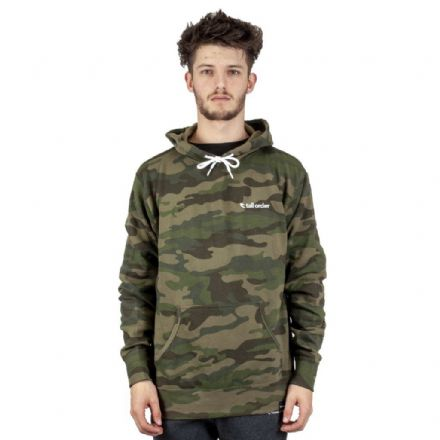 Tall Order Embroidered Logo Sweatshirt - Camo Small